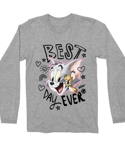 Tom and Jerry Best day ever Póló - Ha Tom and Jerry rajongó ezeket a pólókat tuti imádni fogod!