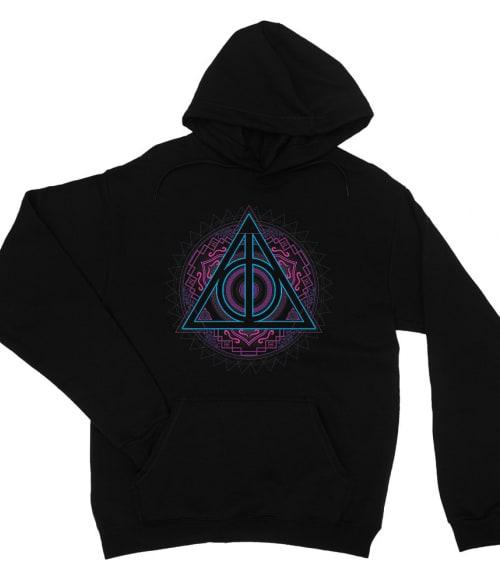 Neon Deathly Hallows Póló - Ha Harry Potter rajongó ezeket a pólókat tuti imádni fogod!