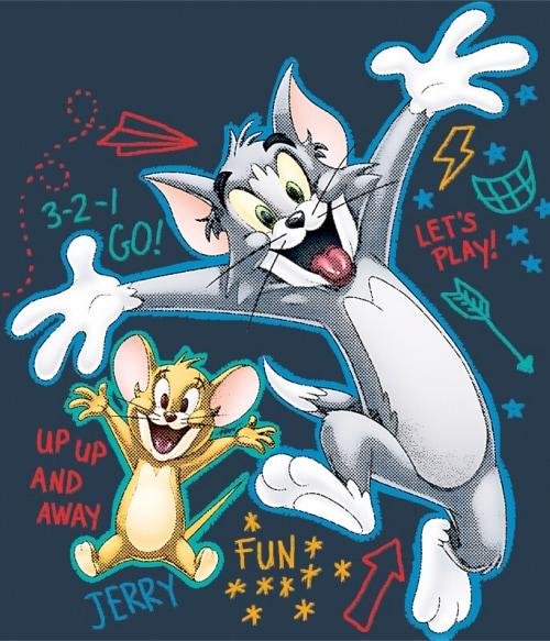 Up up and away Póló - Ha Tom and Jerry rajongó ezeket a pólókat tuti imádni fogod!