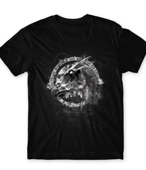 Thestral head Póló - Ha Harry Potter rajongó ezeket a pólókat tuti imádni fogod!