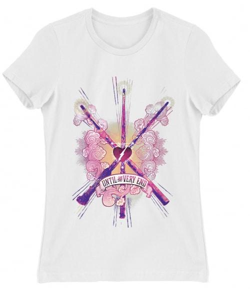 Until the very end Póló - Ha Harry Potter rajongó ezeket a pólókat tuti imádni fogod!