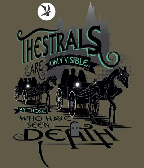 Thestrals Póló - Ha Harry Potter rajongó ezeket a pólókat tuti imádni fogod!