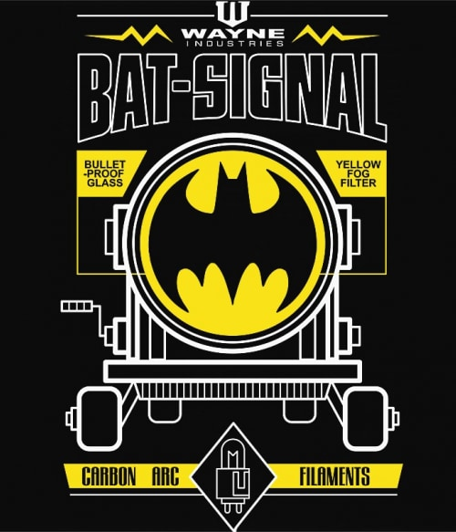 Bat-Signal Póló - Ha Batman rajongó ezeket a pólókat tuti imádni fogod!