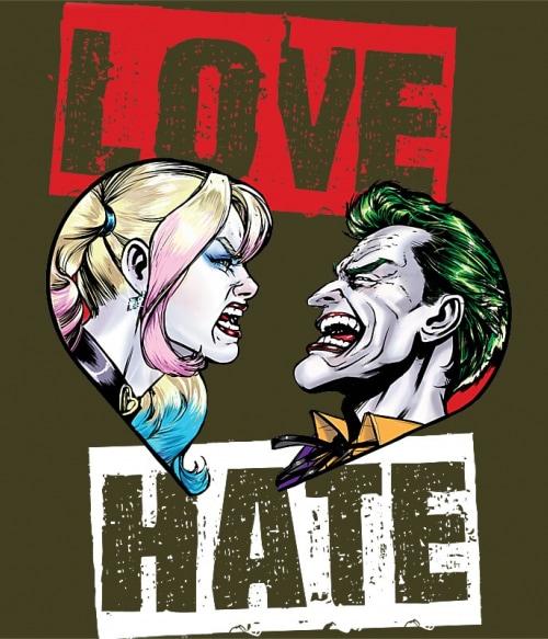 Joker and Harley love Póló - Ha Batman rajongó ezeket a pólókat tuti imádni fogod!