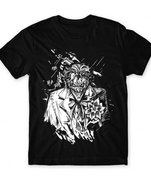 Joker grunge Póló - Ha Batman rajongó ezeket a pólókat tuti imádni fogod!