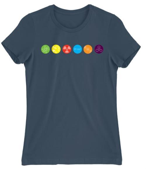 The Big Bang Theory icons Póló - Ha The Big Bang Theory rajongó ezeket a pólókat tuti imádni fogod!