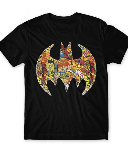 Batman comics logo Póló - Ha Batman rajongó ezeket a pólókat tuti imádni fogod!