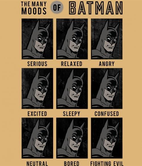 Batman moods Póló - Ha Batman rajongó ezeket a pólókat tuti imádni fogod!