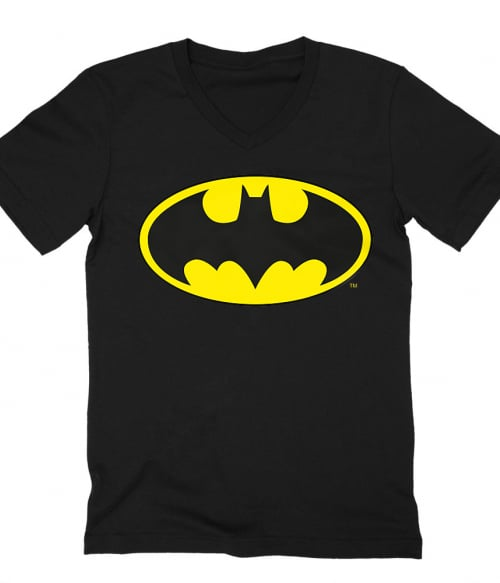 Batman classic logo Póló - Ha Batman rajongó ezeket a pólókat tuti imádni fogod!
