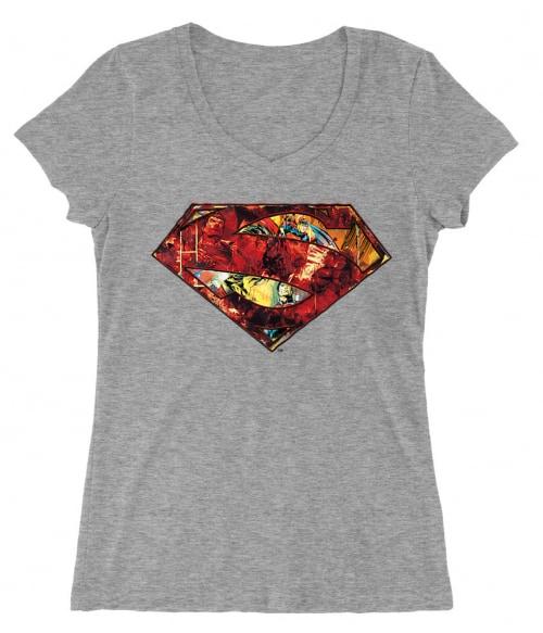 Superman comics logo Póló - Ha Superman rajongó ezeket a pólókat tuti imádni fogod!