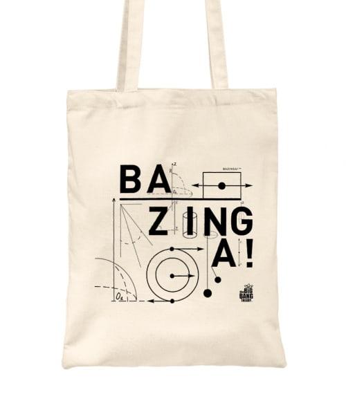 Bazinga Physics Póló - Ha The Big Bang Theory rajongó ezeket a pólókat tuti imádni fogod!
