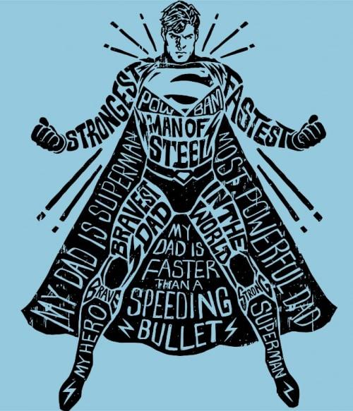 Superman silhouette Póló - Ha Superman rajongó ezeket a pólókat tuti imádni fogod!