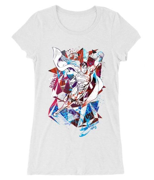 Superman polygon Póló - Ha Superman rajongó ezeket a pólókat tuti imádni fogod!
