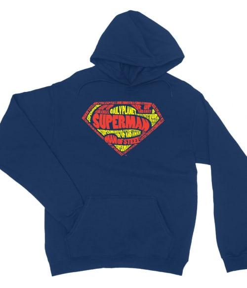 Superman text logo Póló - Ha Superman rajongó ezeket a pólókat tuti imádni fogod!