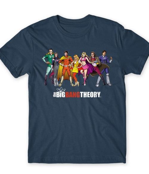 BBT Team Póló - Ha The Big Bang Theory rajongó ezeket a pólókat tuti imádni fogod!
