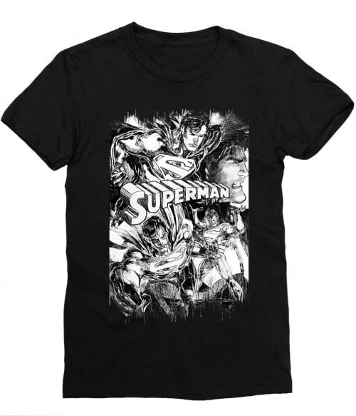 Graphic Superman Póló - Ha Superman rajongó ezeket a pólókat tuti imádni fogod!