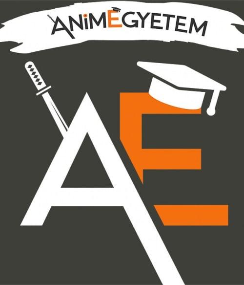 AnimEgyetem logo 2 Póló - AnimEgyetem
