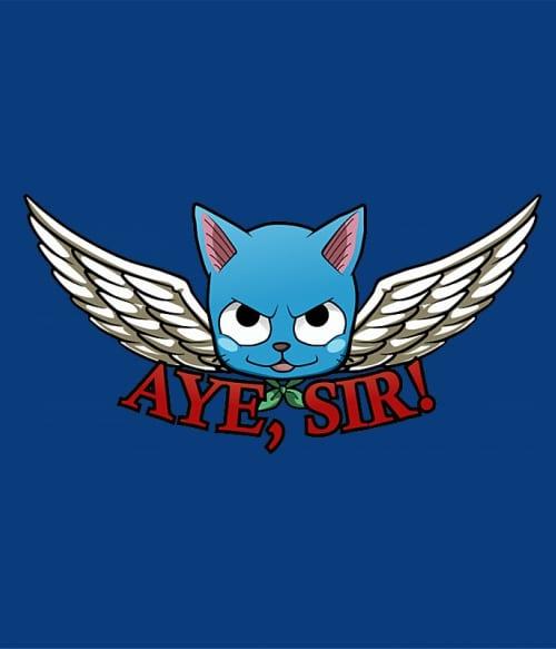 Aye Sir! Póló - Fairy Tail - Fuchsworld