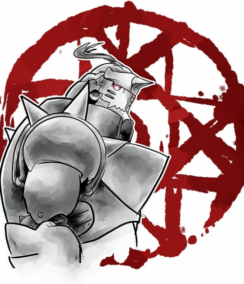 Alphonse Elric Póló - Fullmetal Alchemist - Grenn
