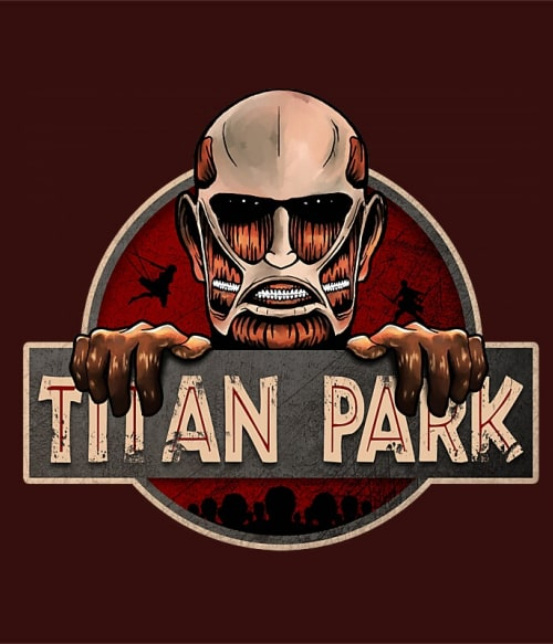 Titan Park Póló - Attack on Titan - Grenn