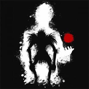 Kira and Ryuk Póló - Death Note - Grenn