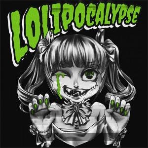 Lolipocalypse Green Póló -  - Hellodalice