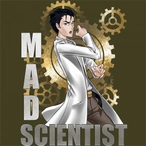 Mad scientist Póló - STEINS;GATE - Hellodalice