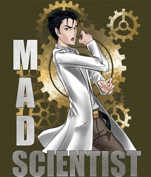 Mad scientist Póló - STEINS;GATE - Hellodalice