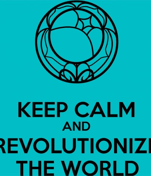 Revolutionize the world Póló - Revolutionary Girl Utena - Ibu