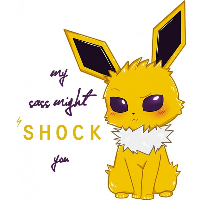 Jolteon - Eeveelution sorozat Póló - Pokemon - Lindako