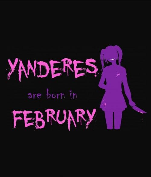 Született Yandere Február Póló -  - Lindako