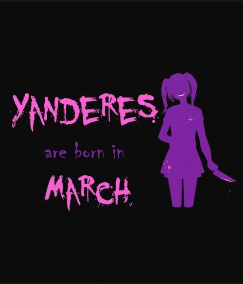 Született Yandere Március Póló -  - Lindako