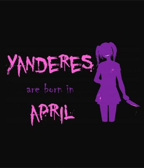 Született Yandere Április Póló -  - Lindako
