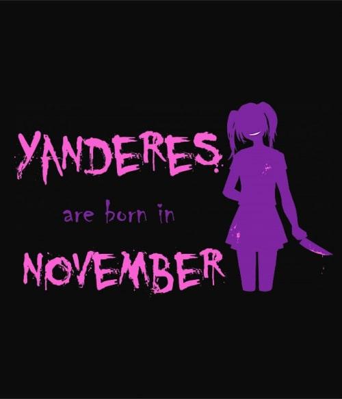 Született Yandere November Póló -  - Lindako