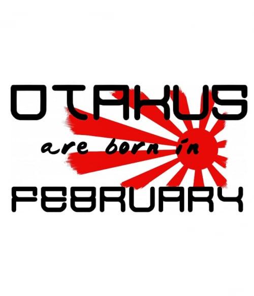 Született Otaku Február Póló -  - Lindako