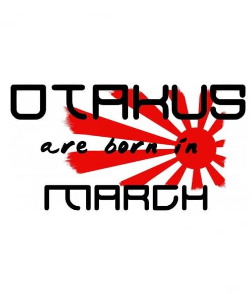 Született Otaku Március Póló -  - Lindako