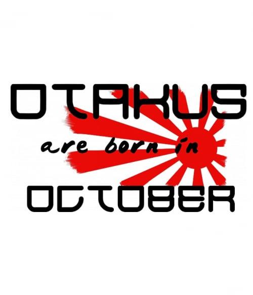 Született Otaku Október Póló -  - Lindako