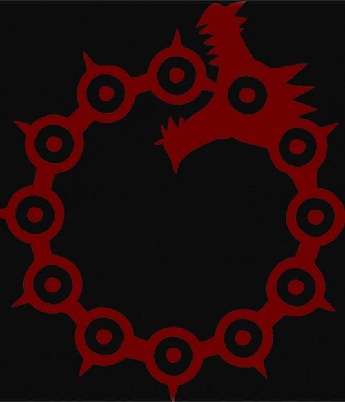 Dragon's Sin of Wrath Meliodas - Nanatsu no Taizai Póló - Nanatsu no Taizai - Lindako