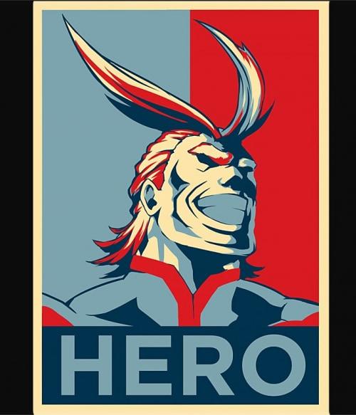 Boku no Hero Academia -  All Might Póló - Boku no Hero Academia - Lindako