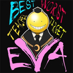 Koro-sensei best worst Póló - Assassination Classroom - Macy