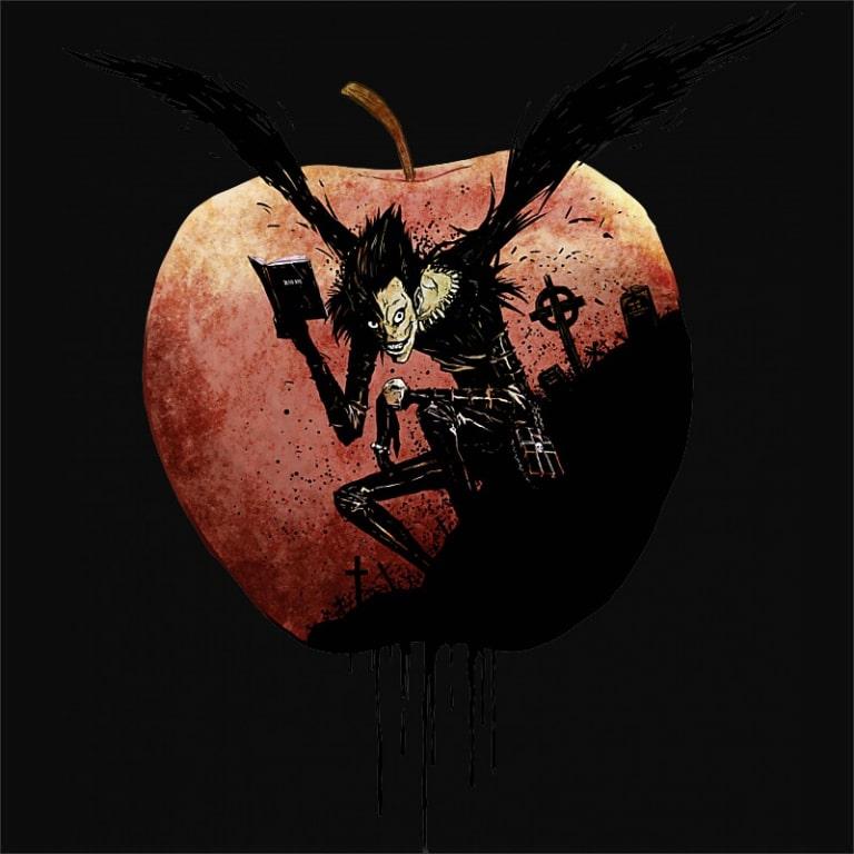 Apple Love Póló - Death Note - Naka