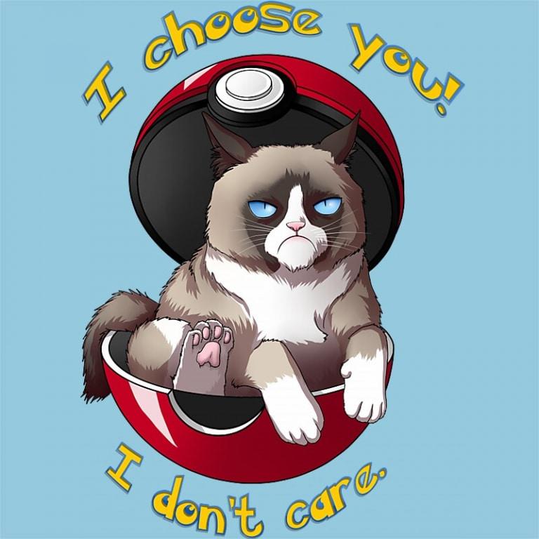 I Choose You – I don't Care Póló - Pokemon - RenoViol