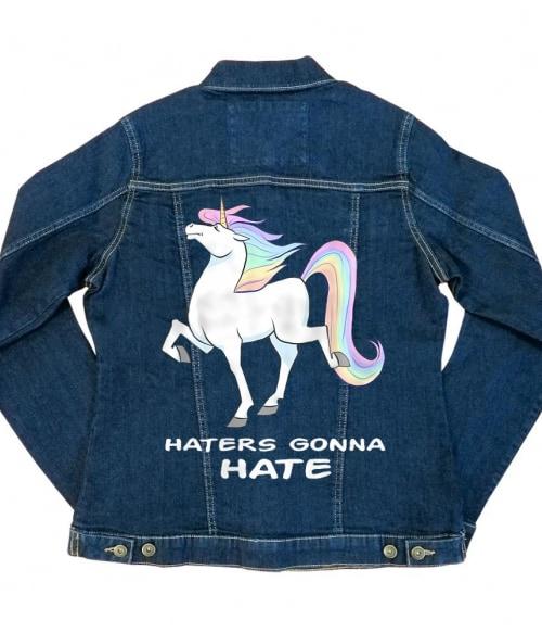 Haters gonna hate - Unikornis Póló -  - RenoViol