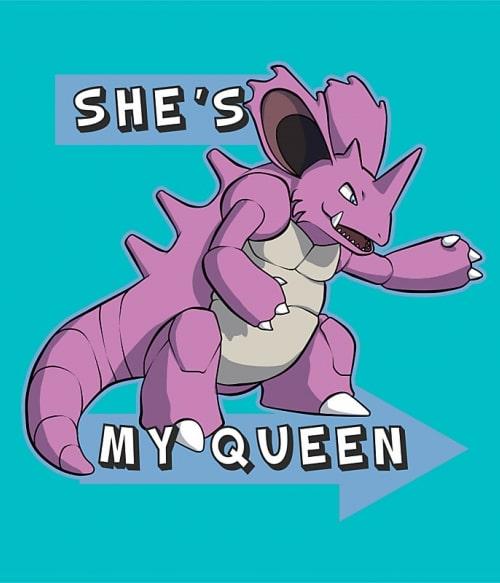 Ő az én Királynőm! Póló - Pokemon - RenoViol