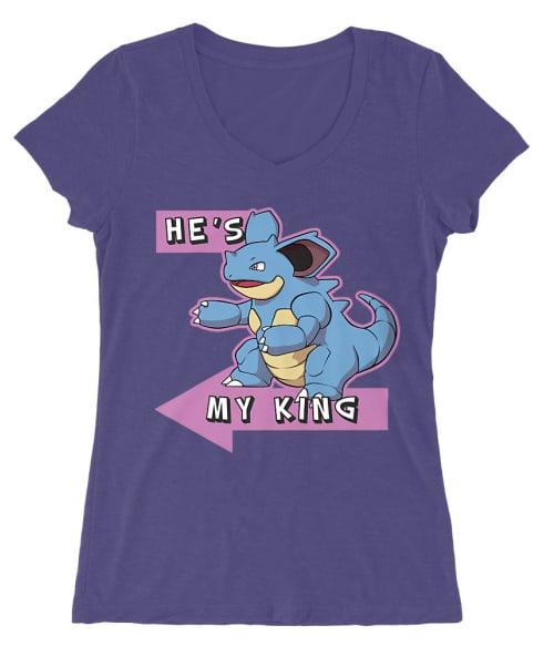Ő az én Királyom! Póló - Pokemon - RenoViol