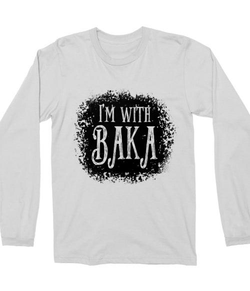 I'm with Baka – Tim Burton style Póló -