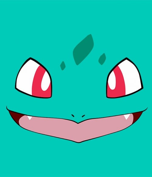 Bulbasaur face Póló - Pokemon