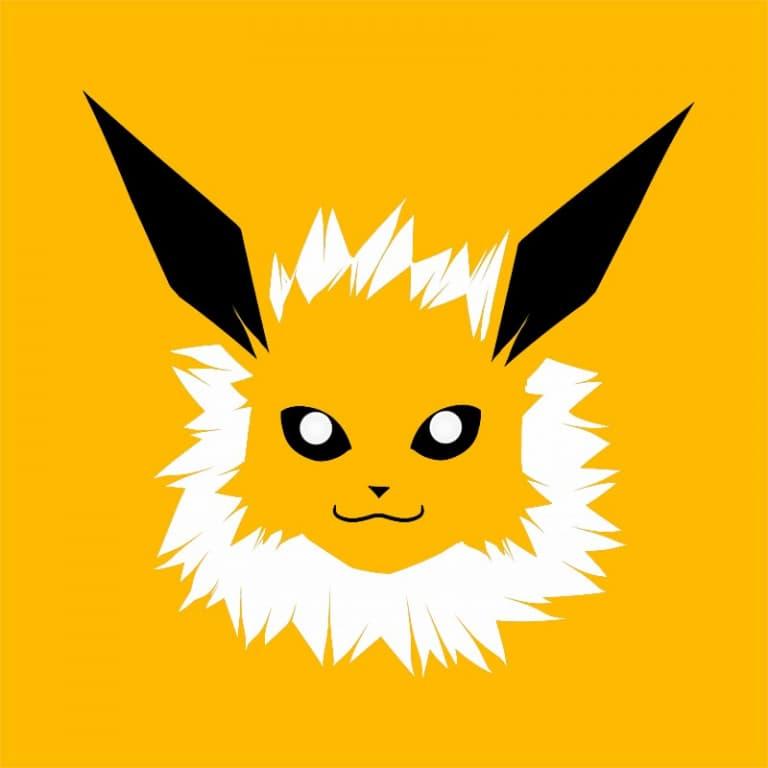 Jolteon face Póló - Pokemon