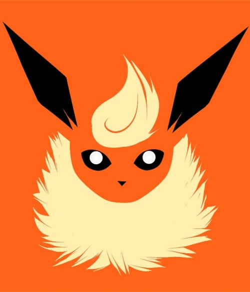 Flareon face Póló - Pokemon