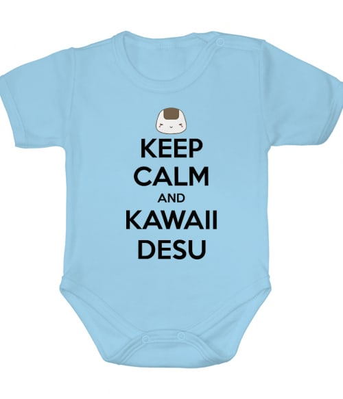 Keep Calm and Kawaii desu Póló -